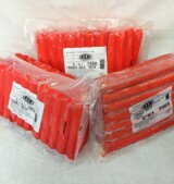 Red Bulk 5 or 6 inch Franks