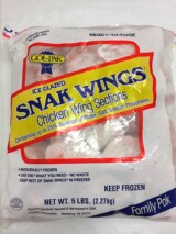 Chicken Snak Wings 5lb bag