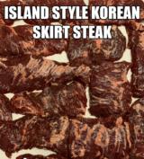 Korean Style Beef Skirt Steak